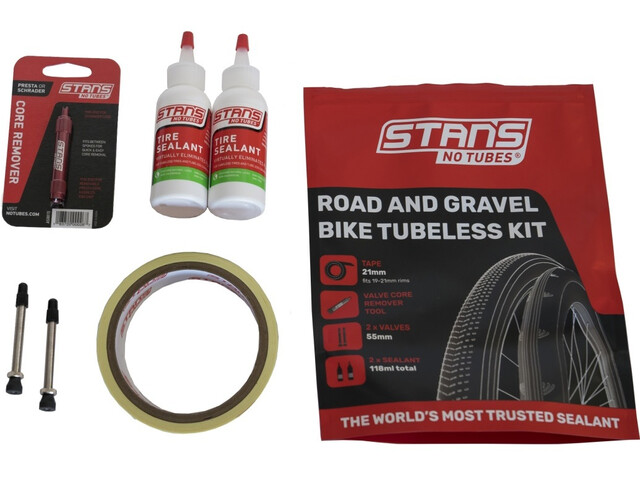NoTubes Road Tubeless Kit with 21mm Rim Tape